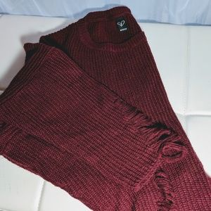 Windsor sweater maroon